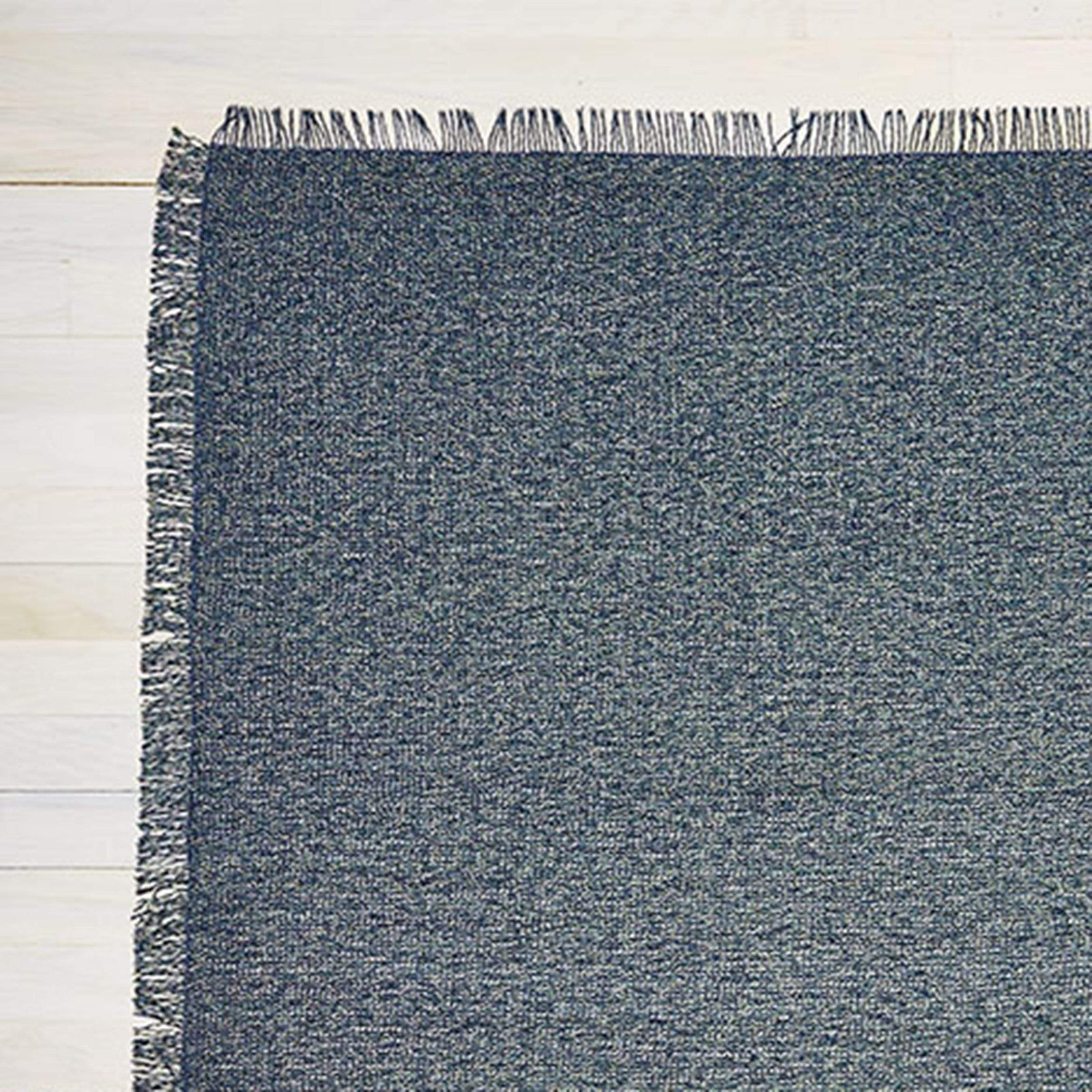 Chilewich Rug Market Fringe Woven Floormat - Pacific