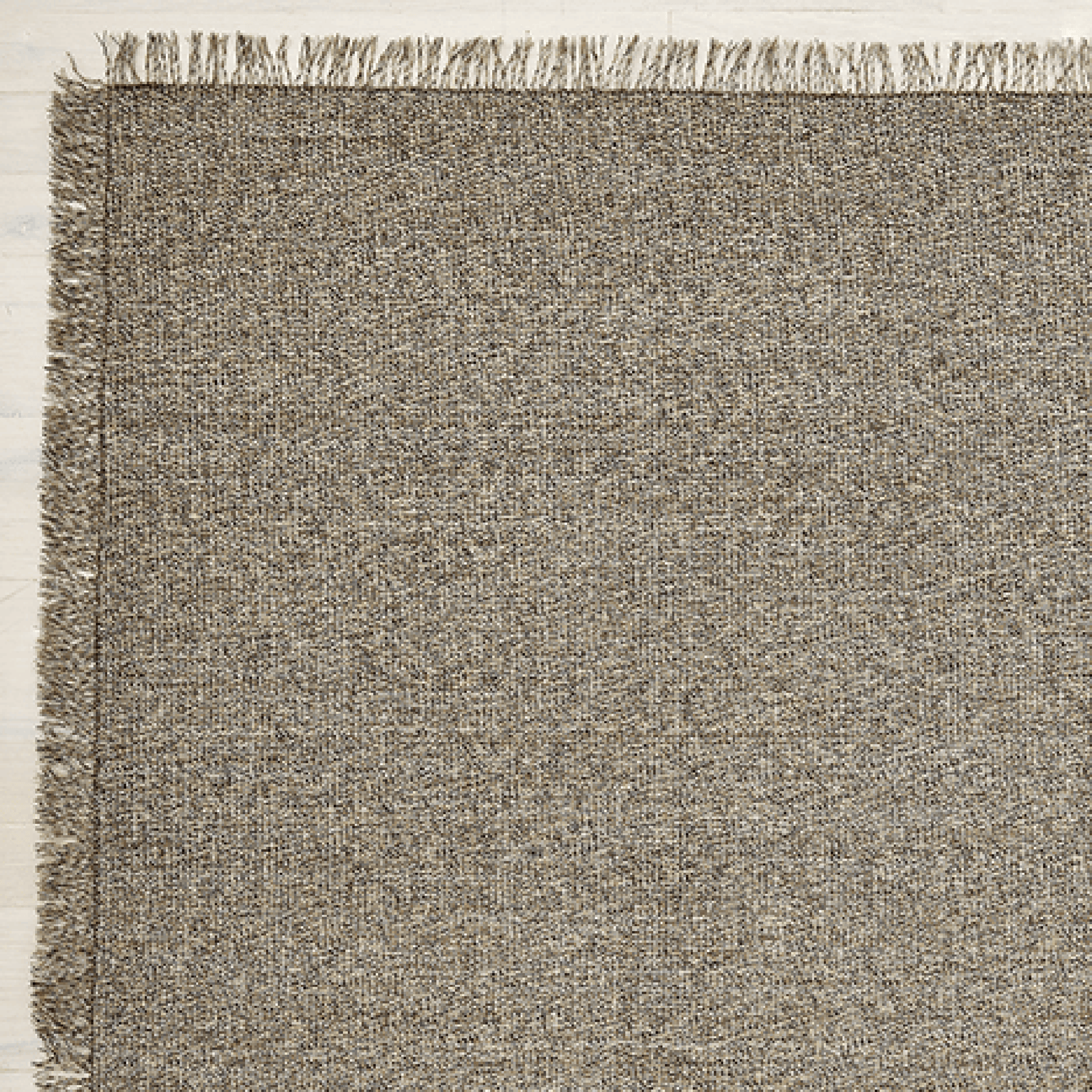Chilewich Rug Market Fringe Woven Floormat - Sisal