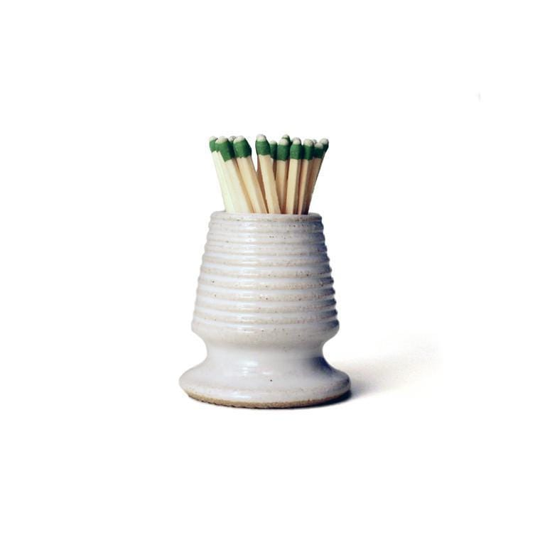 Farmhouse Pottery Pottery Match Striker - Bistro Footed