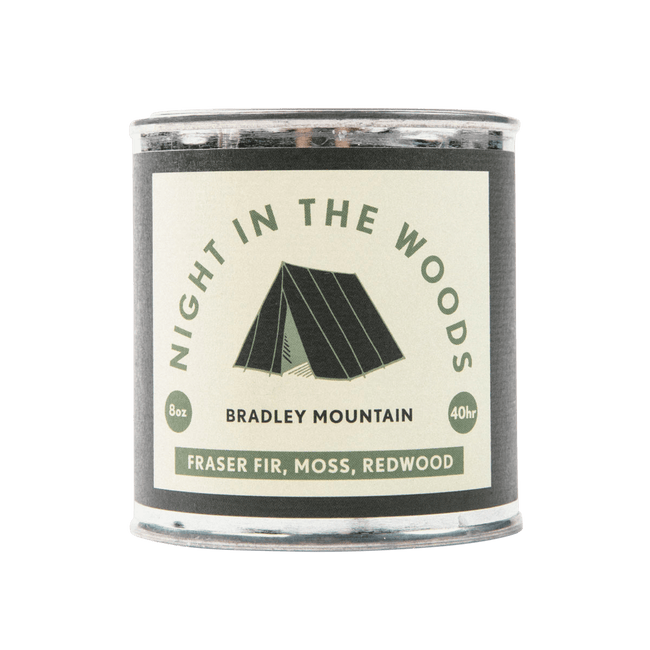 Bradley Mountain Candle Night In The Woods Travel Candle
