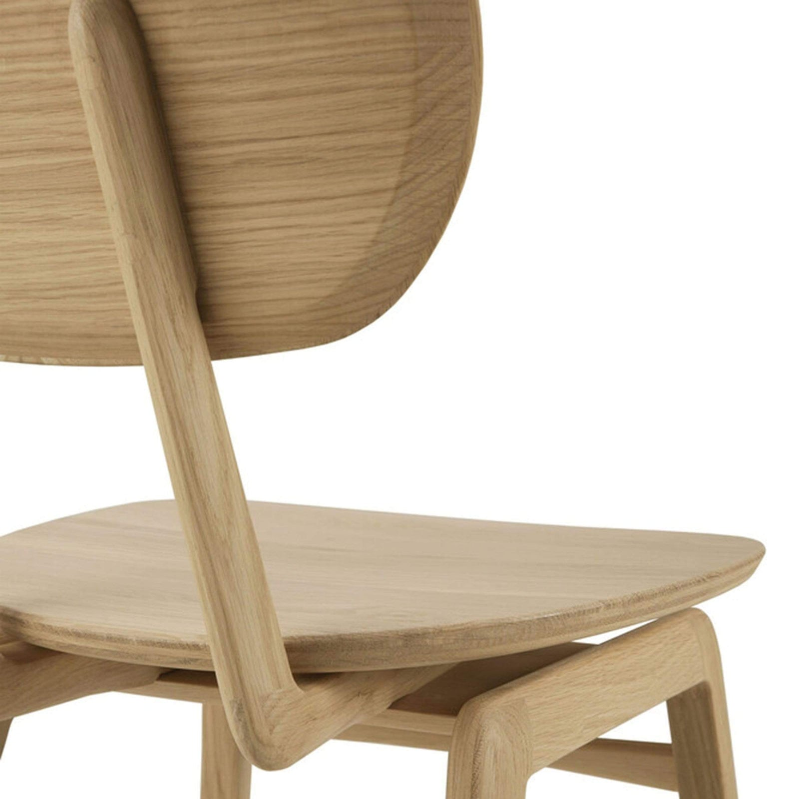 Ethnicraft Furniture Oak Pebble Dining Chair