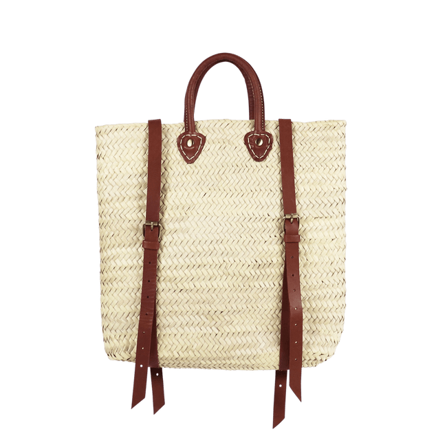 SOCCO WHOLESALE Purse Panama Straw Backpack