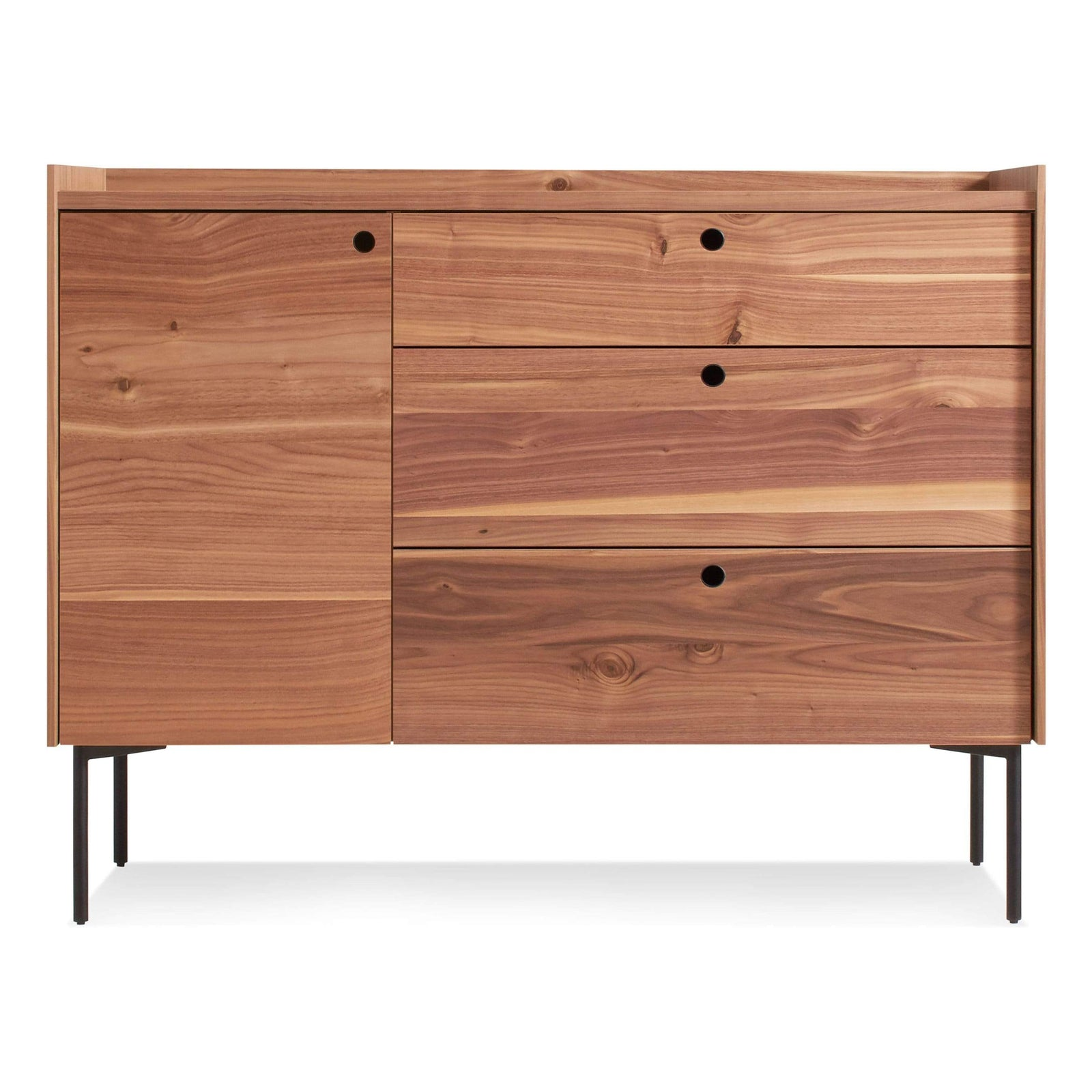 Blu Dot Furniture Rustic Walnut Peek Credenza