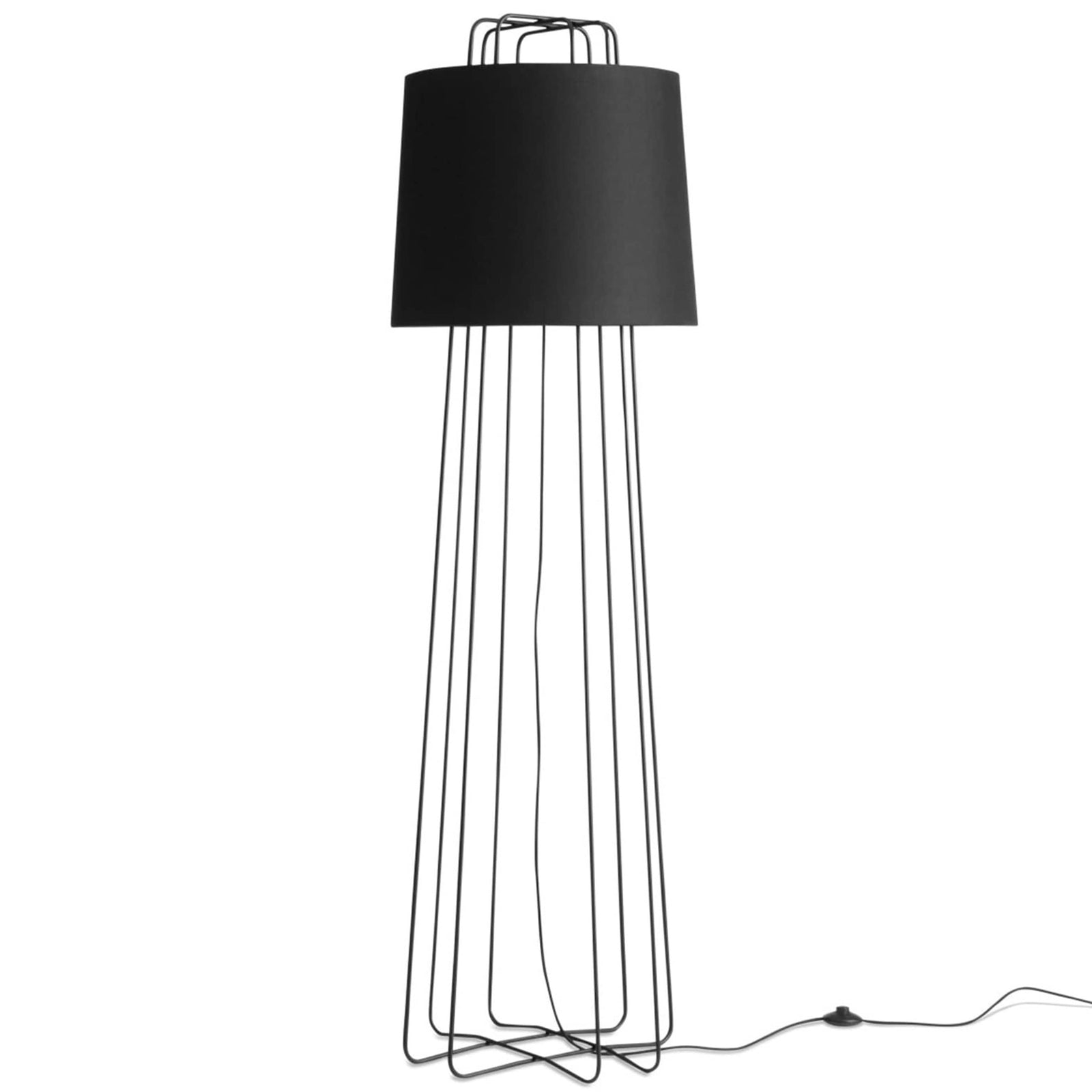 Blu Dot Lighting Black Perimeter Floor Lamp