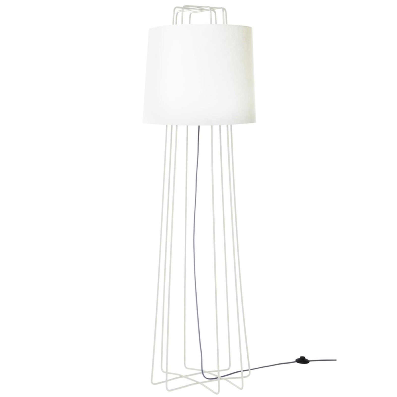 Blu Dot Lighting White Perimeter Floor Lamp