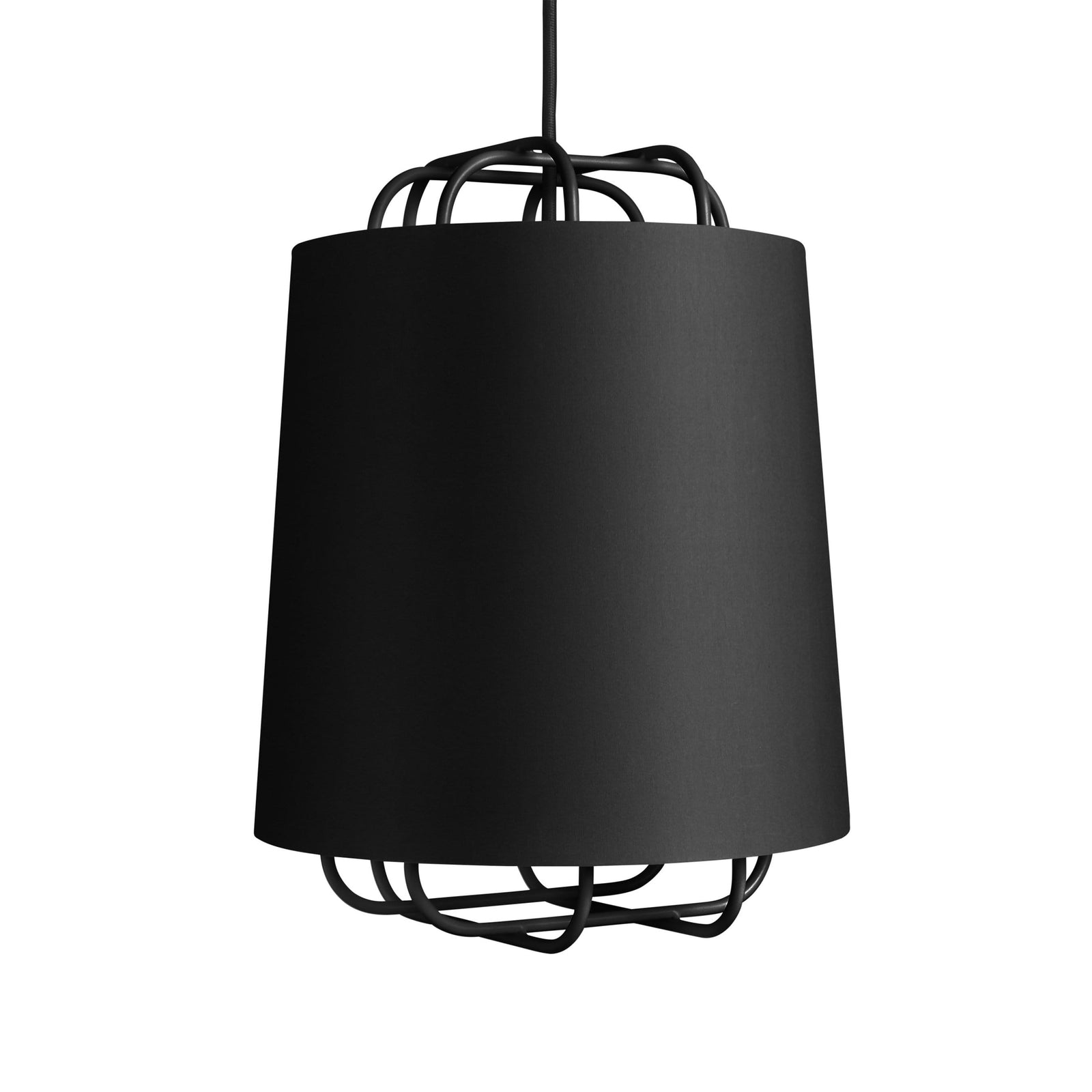 Blu Dot Lighting Black Perimeter Small Pendant Light