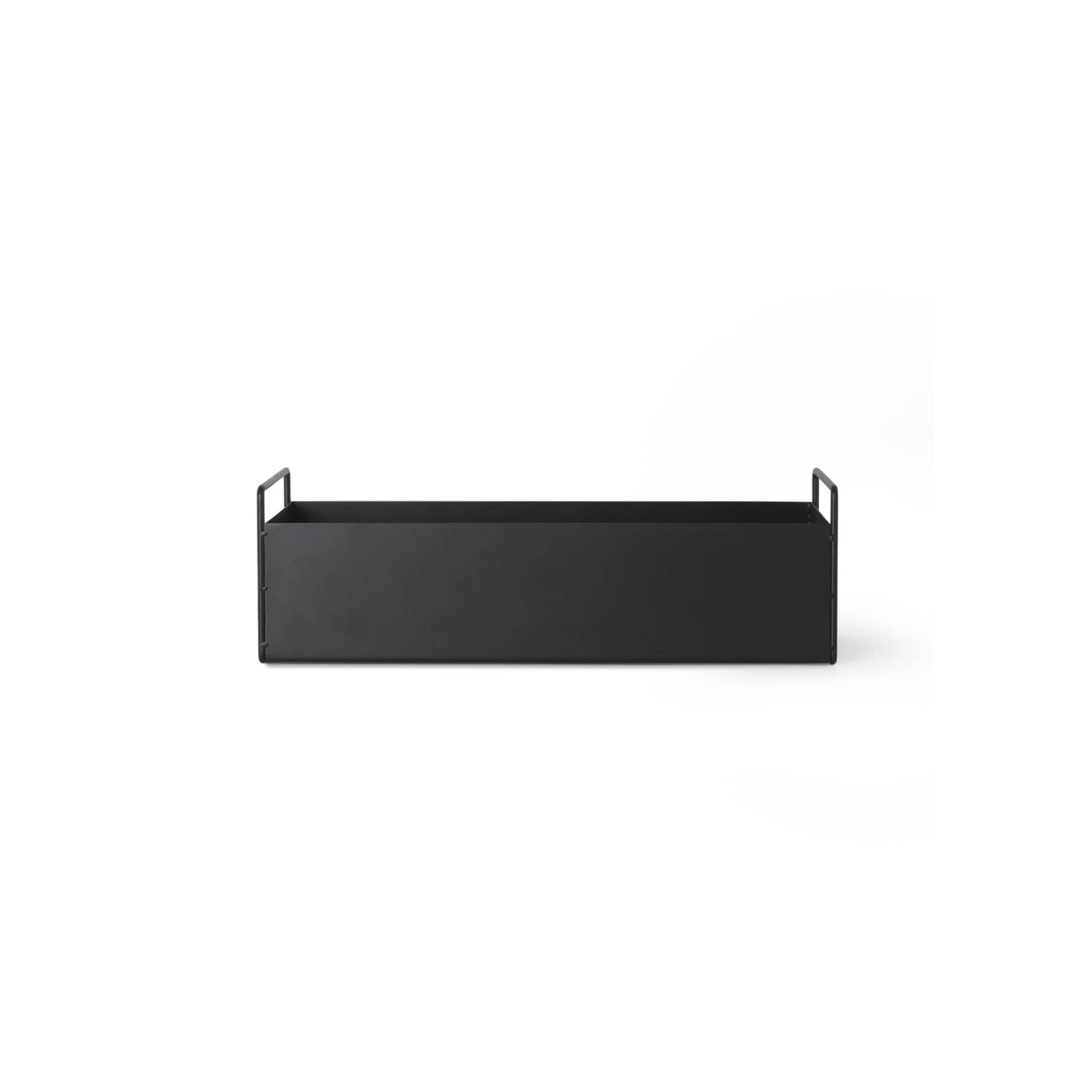 Ferm Living Pottery Black Plant Box - Small