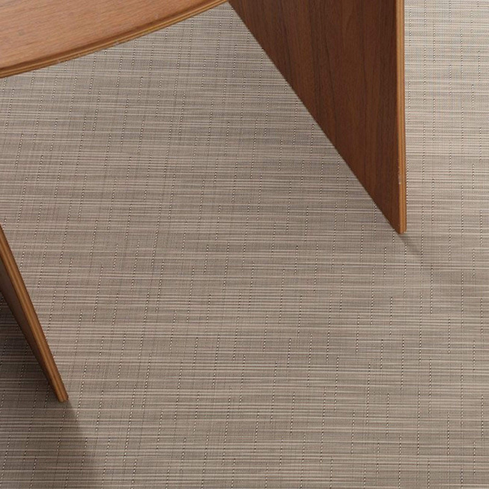 Chilewich Rug Reed Woven Floormat - Bisque