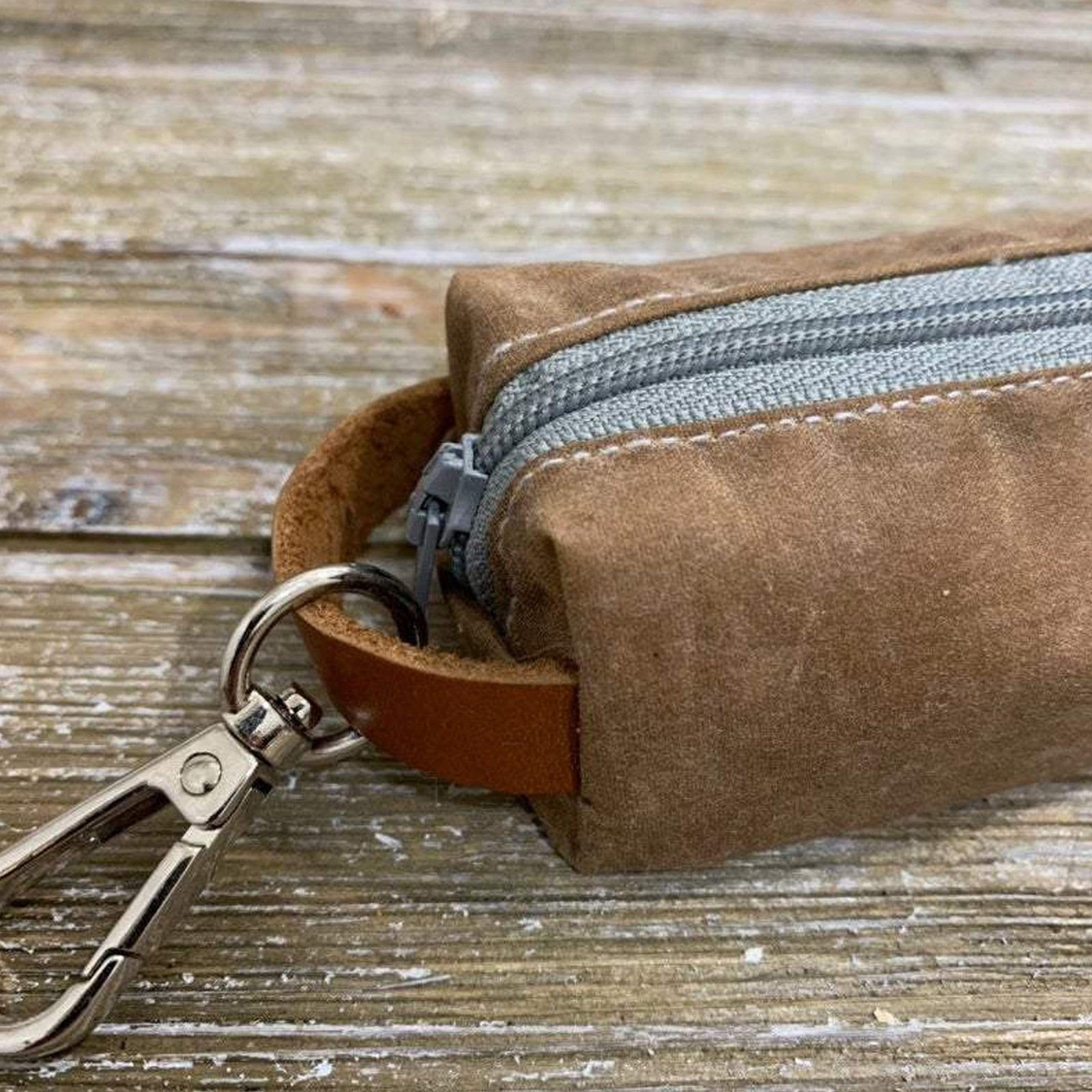 Rex & Bandon Rex & Bandon - Fremont Dog Poop Bag-Waxed Canvas