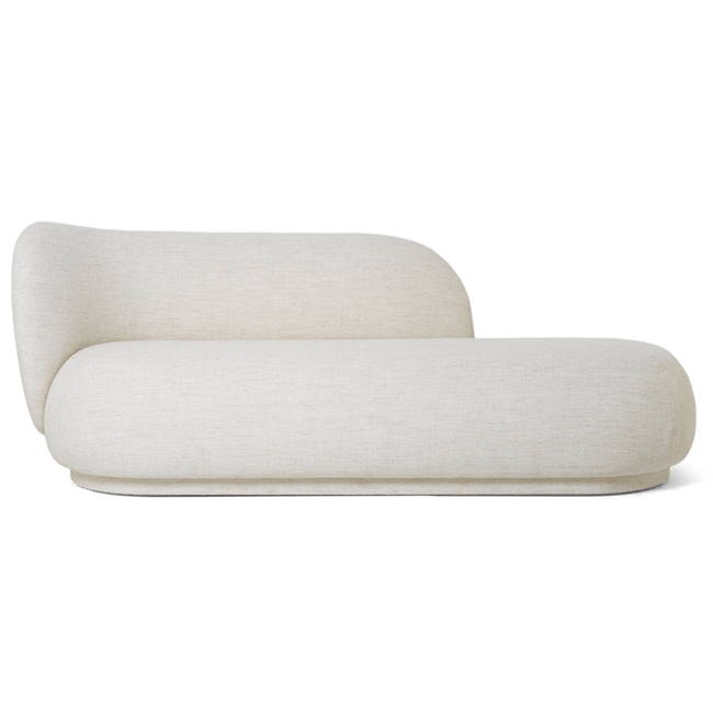Ferm Living Furniture Off White Rico Divan Boucle