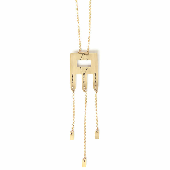 LUNASOL Jewelry Sand Hills Necklace
