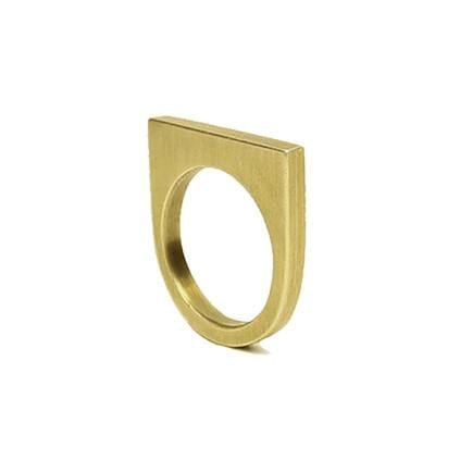 Marmol Radziner Jewelry Slab Ring - Short