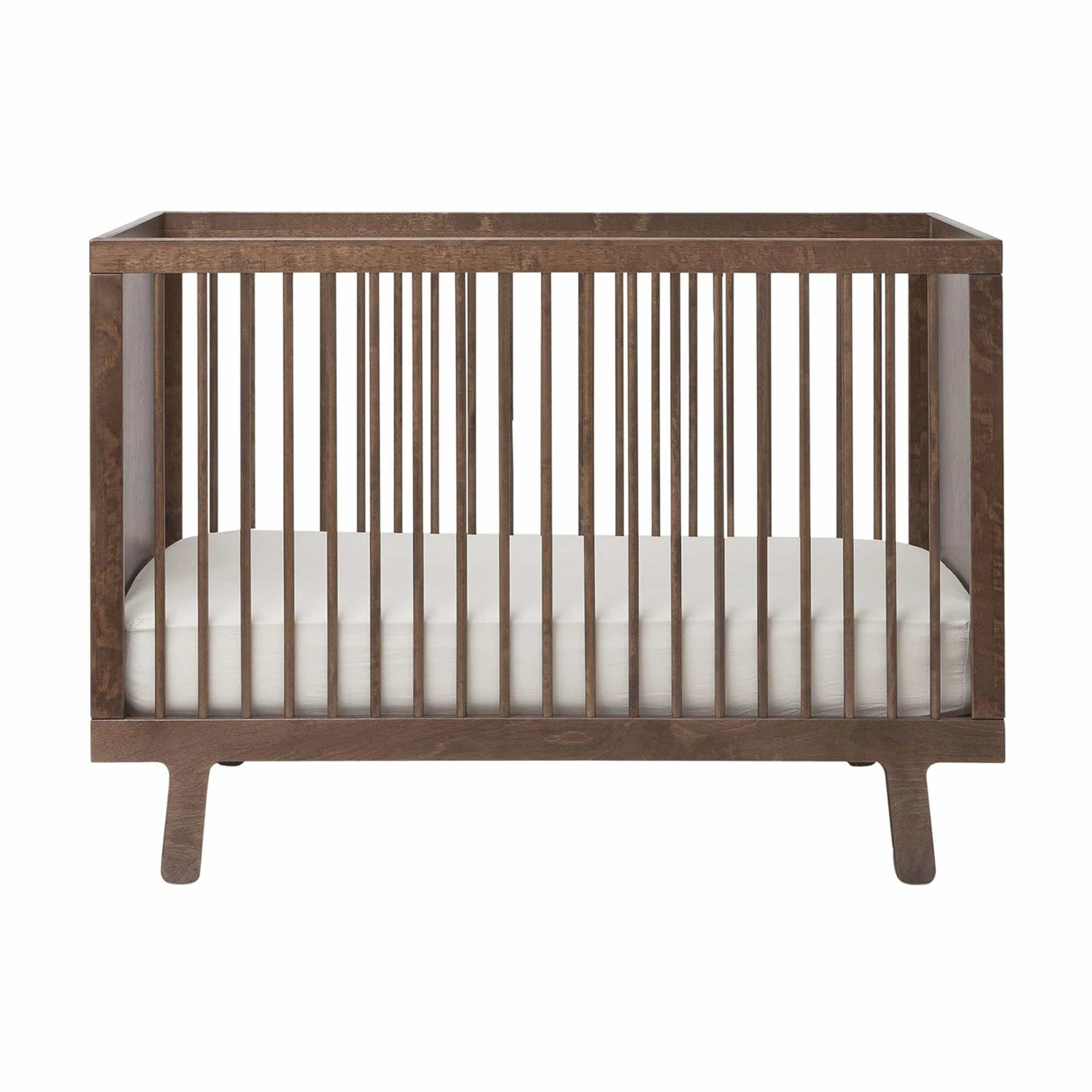 Oeuf Furniture Walnut Sparrow Crib