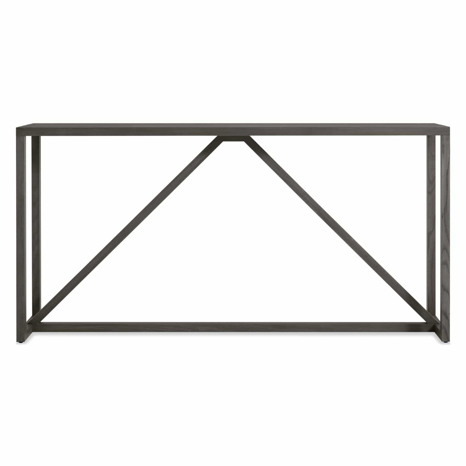 Blu Dot Furniture Smoke Strut Console Table
