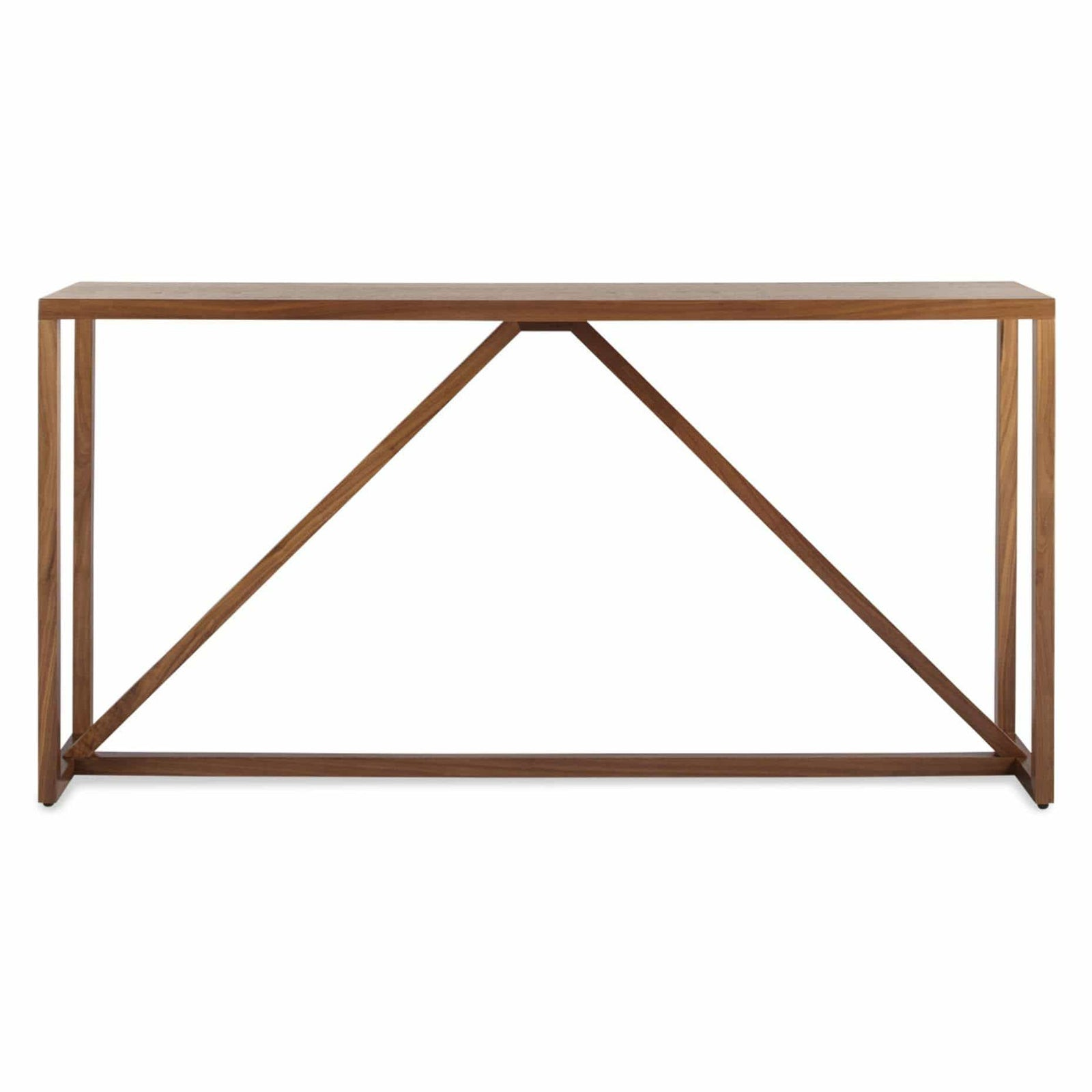 Blu Dot Furniture Walnut Strut Console Table