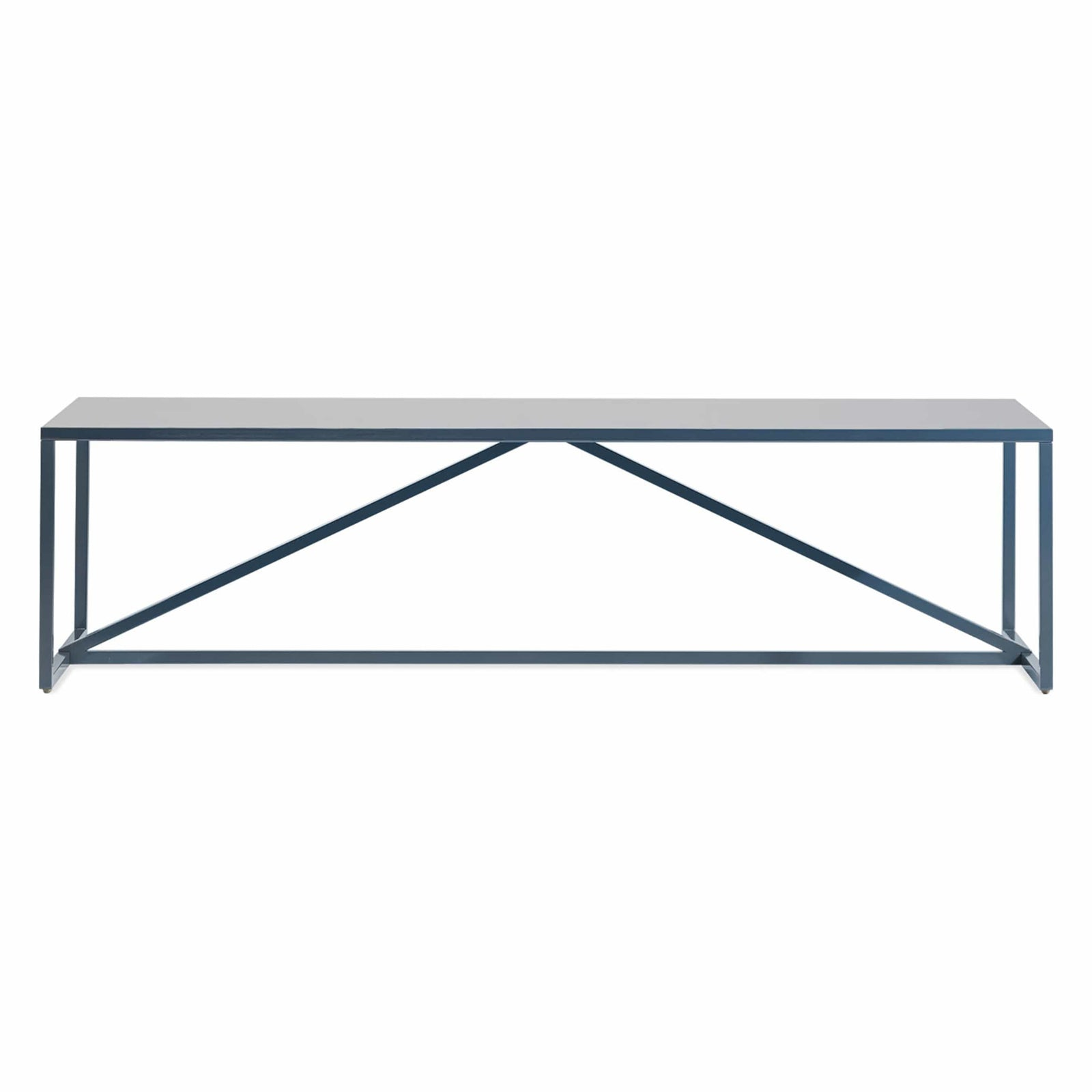 Blu Dot Furniture Navy Strut Rectangle Coffee Table