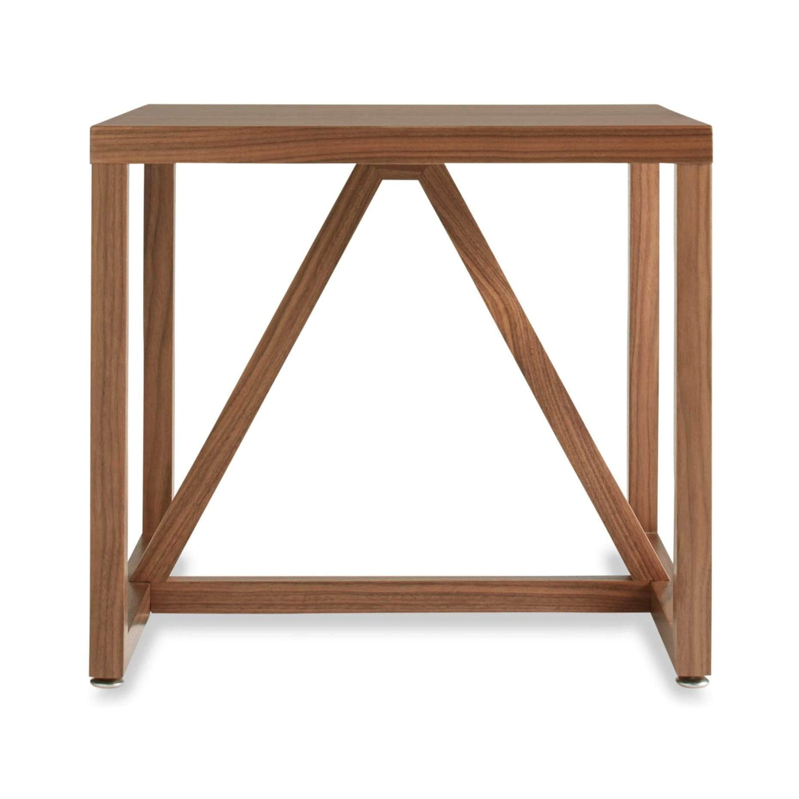Blu Dot Furniture Walnut Strut Side Table