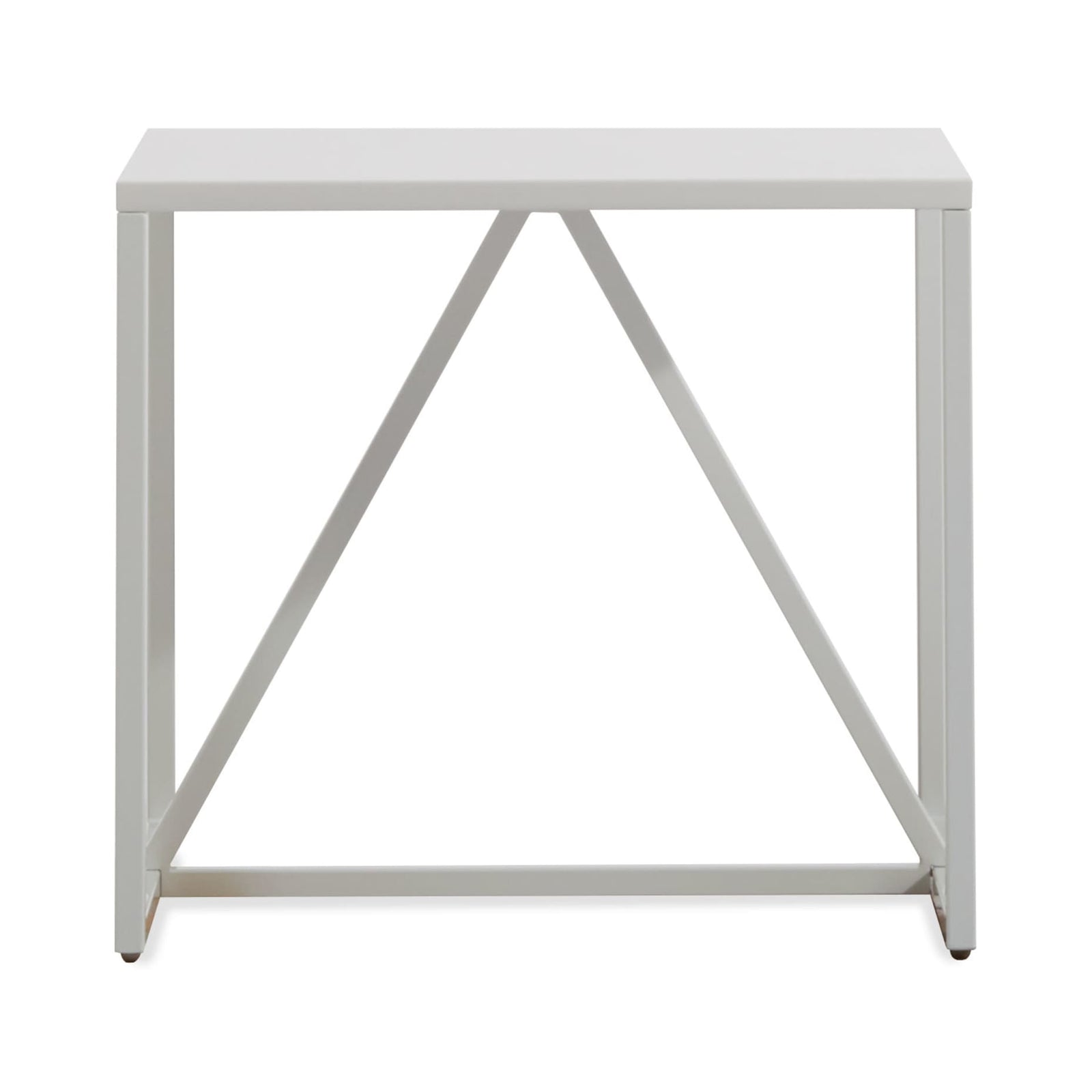 Blu Dot Furniture White Strut Side Table