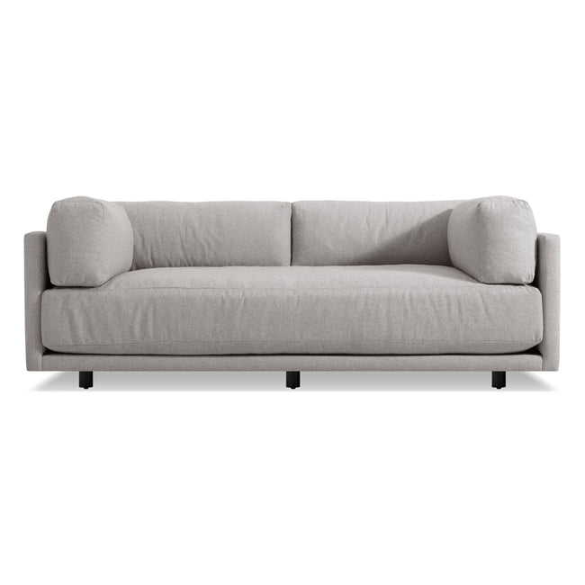 "Blu Dot Furniture 82"" / Agnew Grey Sunday Sofa"