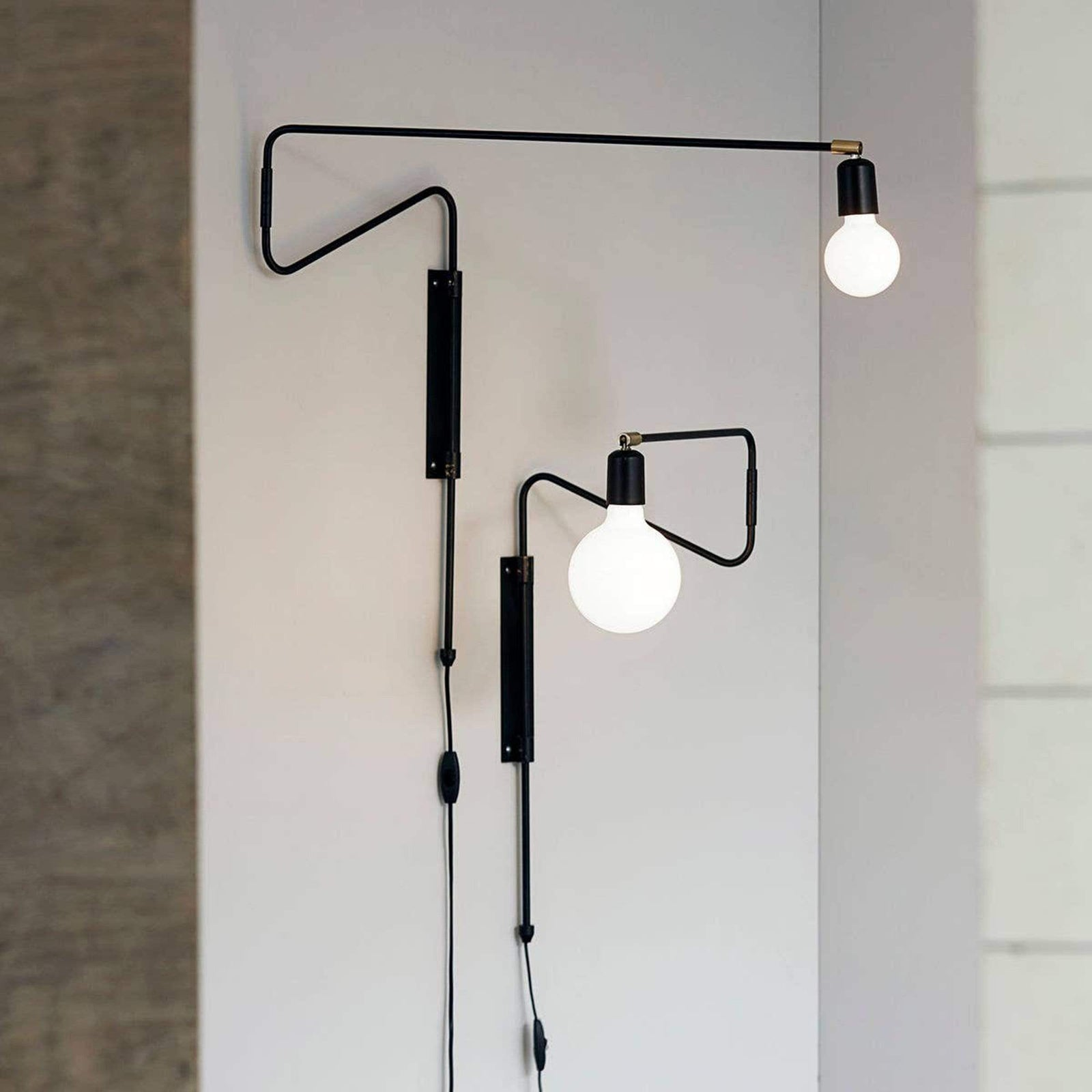 House Doctor Lighting Swing Wall Lamp