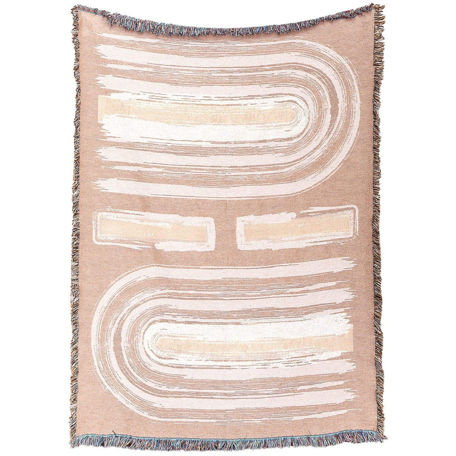 San Junipero Textile Studio Bedding Symmetry Cotton Throw