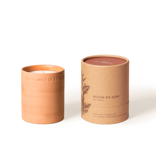 P.F. Candle Co. Candle Western Red Cedar Terra Soy Candle