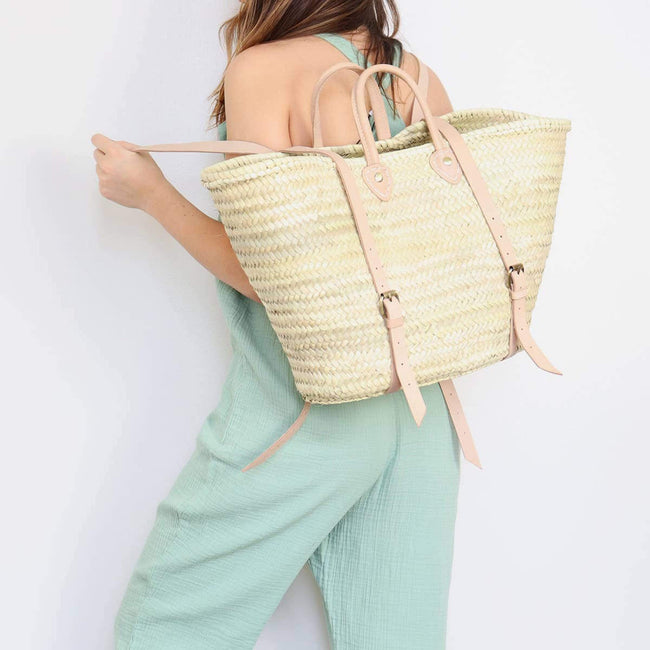 SOCCO WHOLESALE Purse Tokyo Straw Market Backpack
