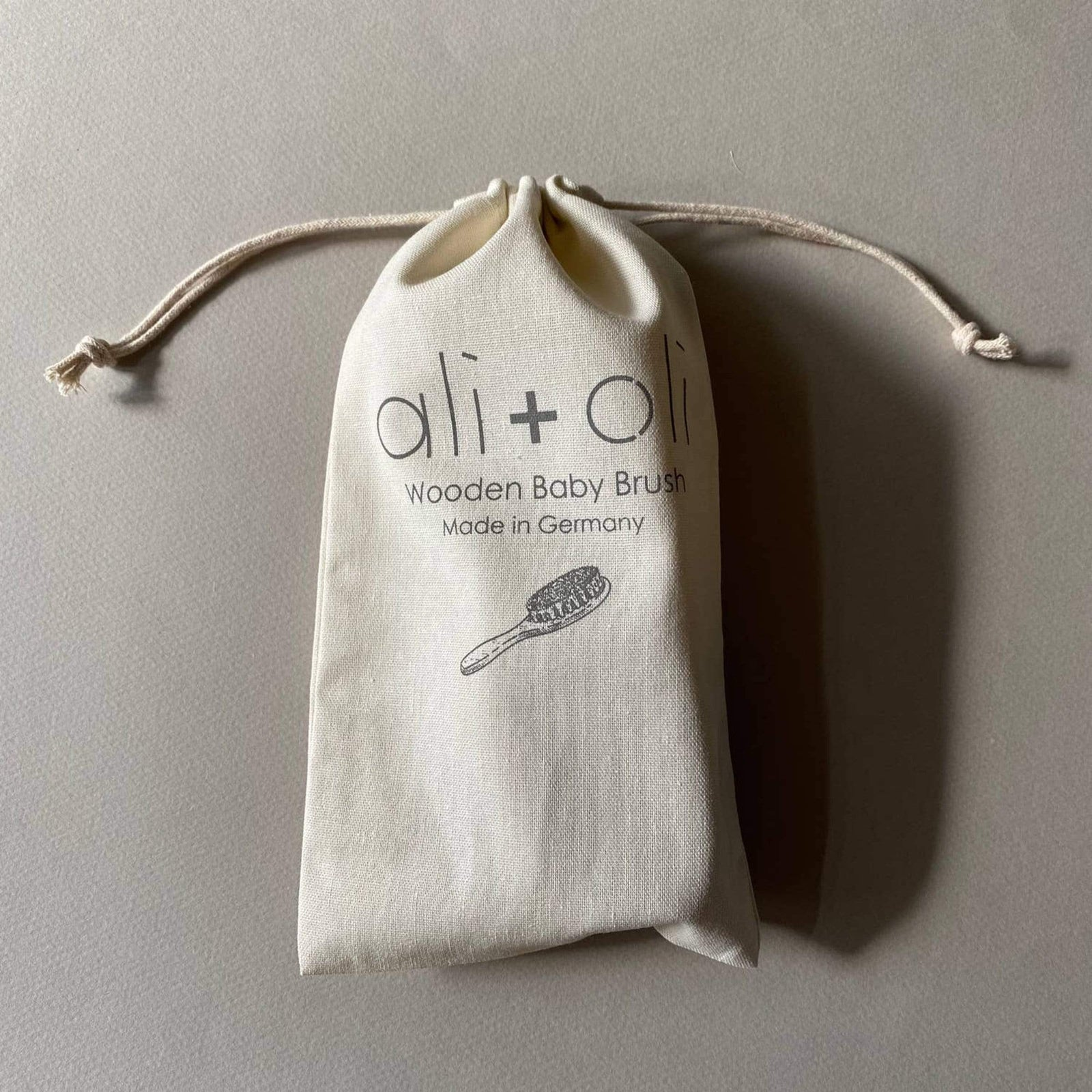 Ali+Oli Child Wooden Baby Brush