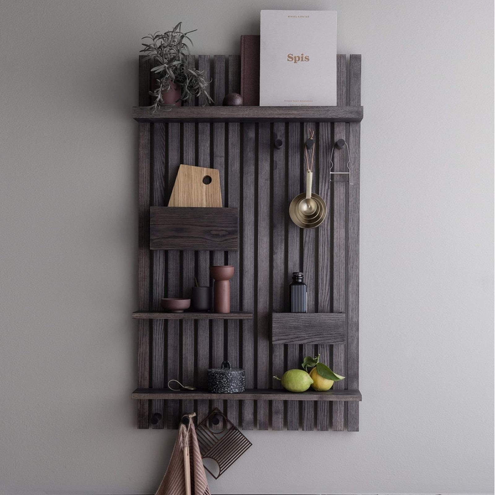 Ferm Living Wall Decor Wooden Multi Shelf