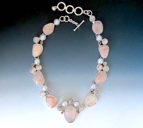 One of A Kind Peach Moonstone