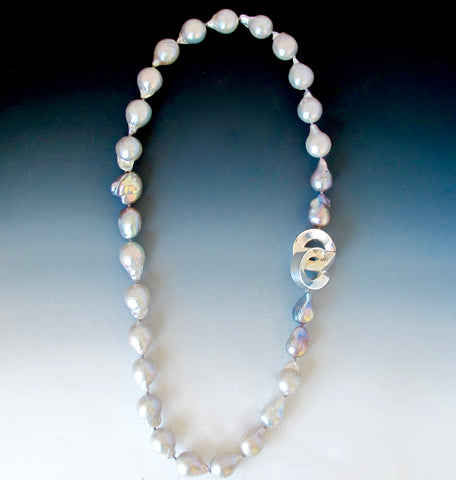 Baroque Pearls with Gravity Clasp