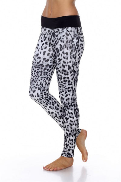 CHEETAH PRINT WORK OUT PANTS