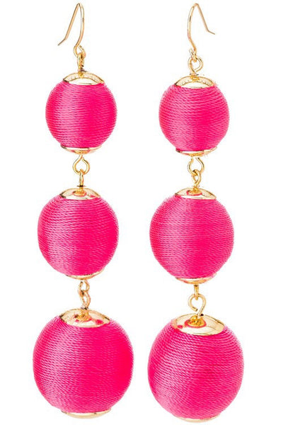 TRIPLE DROP EARRINGS