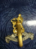 Army Pay Corps Bi-Metal Kings Crown Cap Badge.