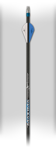 CX Maxima Blue Streak Fletched