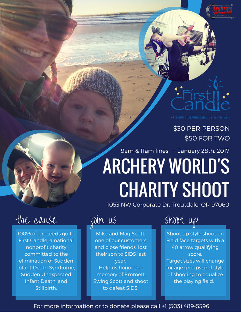 Archery World Charity Shoot Donation