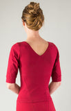 #438 Cuffed Sleeve Top