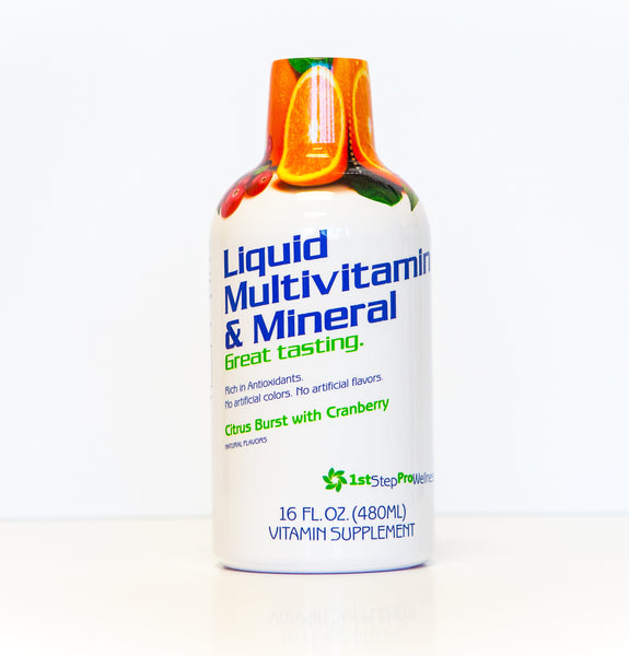 Liquid Multivitamin in Citrus and Cranberry Flavor