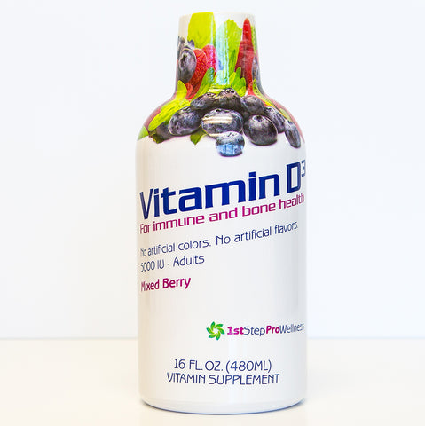 Vitamin D3 Mixed Berry; 1st Step ProWellness