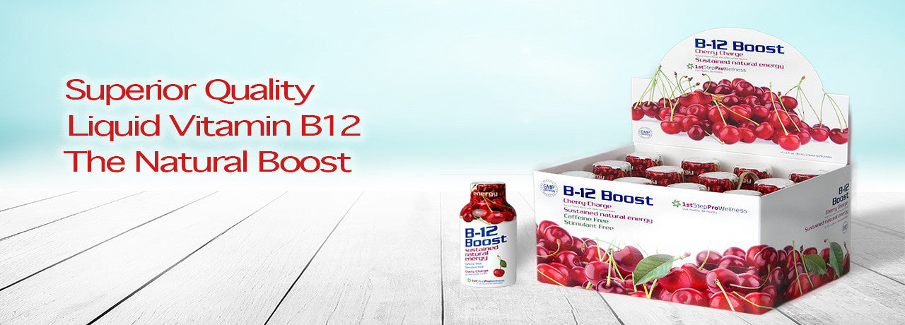 Liquid B12; The Natural Boost