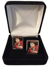 Muhammad Ali Cuff Links- Silver Border