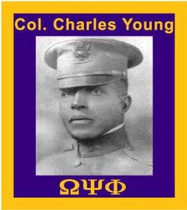 Col. Charles Young Lapel Pin