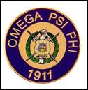 OMEGA SHIELD LAPEL PIN