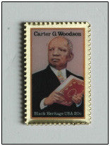 Carter G. Woodson Lapel Pin