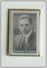 Ernest E. Just Lapel Pin