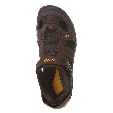 MEN'S OMNIUM LEATHER BROWN SANDAL
