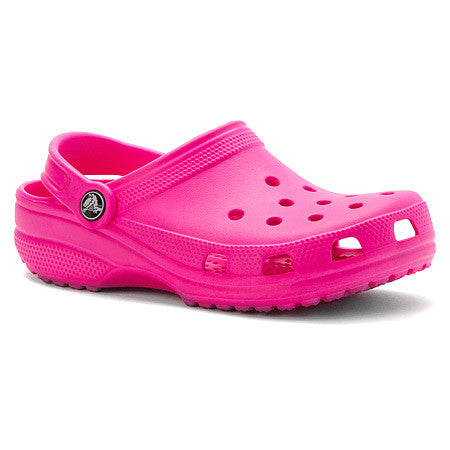 GIRL'S CROCSLIGHT RAINBOW HEART CLOG