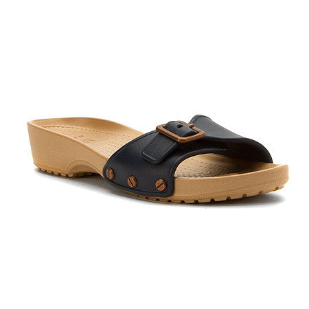 WOMEN'S A-LEIGH 2-STRAP MINI WEDGE