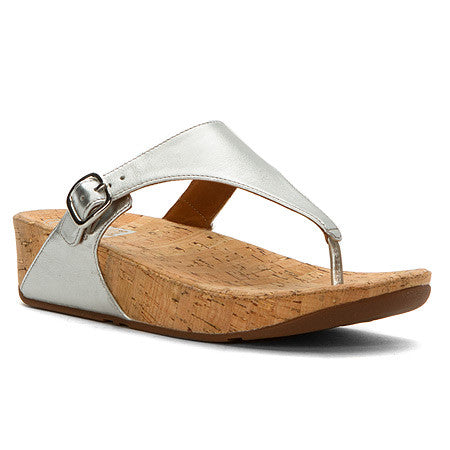 WOMEN'S SKINNY METALLIC SANDALS