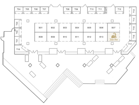 Ikemen Mode booth location at RuffleCon 2017